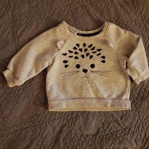Hedgehog sweater